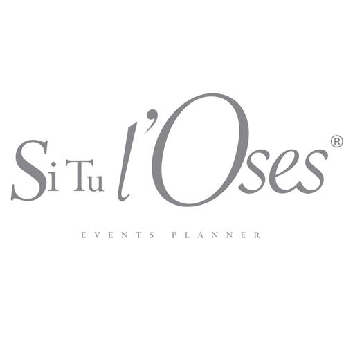 Logo Si tu l'Oses, décoration de mariage en Provence